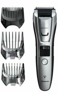 New  Panasonic Multigroom Beard Trimmer Kit ER-GB80-S Silver.