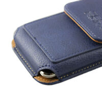 caseroxx Outdoor Case for Cubot King Kong in blue made of genuine leather