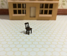 Dollhouse Miniature 1:144 Scale Kitchen & Dining Chair Micro Minis Furniture