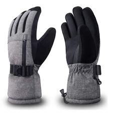 Rivmount Winter Ski Gloves 3M Thinsulate Waterproof Black/Grey Sz Small