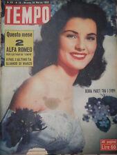 TEMPO 28 Marzo 1953 Debra Paget Trieste Liandru Narriman Filippo De Pisis Hill e