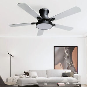 "42"" Ceiling Fan with LED Light Remote Control 3 Color / Speed Change Chandelier"