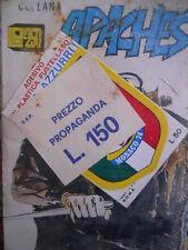 Busta Collana Apaches N°1 1974 ed. Ellepi con scudetto Italia Monaco 1974 [G314]