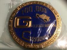 Mercedes G Modell Emblem Abzeichen Plakette 100000 Geländewagen G Klasse PUCH