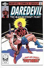 DAREDEVIL #164 (5/80 Marvel) NM- (9.2) ORIGIN RETOLD AND EXPANDED! MILLER ART!
