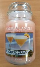 Yankee Candle - Limited Edition -Peaches & Cream - Large Jar