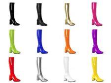 "FUNTASMA Gogo-300 Super Hero Cosplay Costume Drag 3"" Heel Boots Large Sizes 4-15"