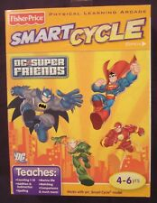Brand New Factory Sealed DC Super Friends Smart Cycle Game Cartridge & Booklet