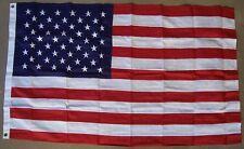 Flag 3x5 Patriotic United States Flag embroidered stars  NEW Banner 2 grommets