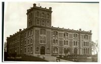 Antique RPPC real photograph postcard Holyhead Convent Anglesey