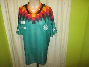 """Germany """" DFB """" Original adidas Away World Championship Jersey 1994 Size XL"""