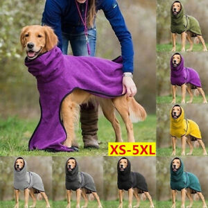 S-5XL Winter Dog Warm Blanket Vest Puppy Pet Coat Hoodies Jacket Fleece Dogs New