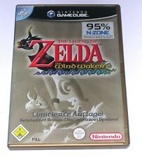 "GAMECUBE jeu ""THE LEGEND OF ZELDA THE WINDWAKER"" allemand/Neuf dans sa boîte"