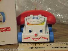 Hallmark 2009 Chatter Telephone Fisher-Price Ornament