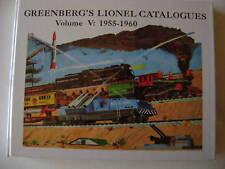 Greenberg's Lionel Catalogues Vol.5 1955-1960