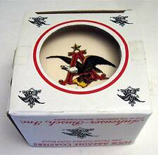 An-Busch Beer 4 Eagle 24 K Gold Band Coasters Old Stock