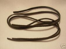 """RAW EDGE genuine LEATHER TRIMS 1/8"""" Lace Lacing Cord 70"""" Strips Dark Brown 25 pc"""