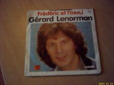 Vinyle 45 tours : Gérard Lenorman : La clairière de l'enfance