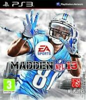 Madden NFL 13 (PS3 Game) *VERY GOOD CONDITION*