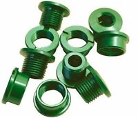 Single Chain Ring Narrow Chainring Bolts MTB Bike Bicycle Alloy Green 6.5mm