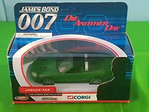 CORGI ULTIMATE JAMES BOND 007 JAGUAR XKR - DIE ANOTHER DAY  TY07601