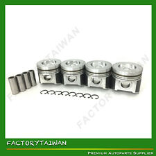 Pistons Set 87mm STD for STD 98mm for KUBOTA V3300-DI (100% TAIWAN MADE) x 4 PCS