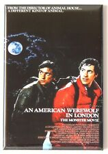 "An American Werewolf in London Fridge Magnet movie poster ""style B"""