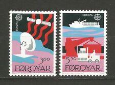 EUROPA CEPT 1988 Foroyar îles de Féroé 2 timbres neufs MNH /TR1680
