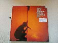 U2 Live Under A Blood Red Sky IMA3 Vinyl Record LP