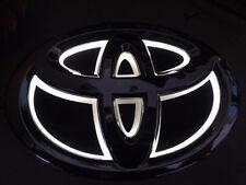 5D LED Car Logo White Light for Toyota Alphard Yaris New Reiz Auto Badge Light