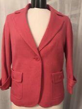 Talbots Women's Blazer One Button Fully Lined Blazer Size 10 NWT
