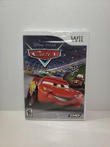 Cars (Nintendo Wii, 2006) Brand New Sealed Disney Pixar