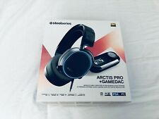 SteelSeries Arctis Pro + GameDAC Over-Ear Headset - Black