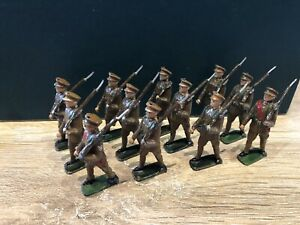 Johillco: British WW1 Infantry Marching. Pre War c1930s