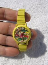 VINTAGE 1986 WONDER WOMAN AVION OUT OF TIME WIND UP WATCH EXCELLENT MUST SEE