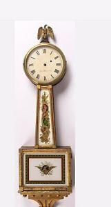 Early Antique Simon Willard Type Wall Banjo Clock REPAIR PROJECT Parts