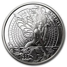 Hobo Nickel Series Green Fairy & Fish Bone 1 oz .999 Silver Proof Round USA Coin