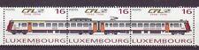 Luxemburg Nr. 1386-88 ** Zusammendruck  Eisenbahn