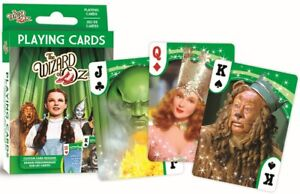 Wizard of Oz Film set of 52 playing cards + Jokers (mpc version)