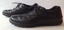 HOTTER women's shoes UK size black colour leather