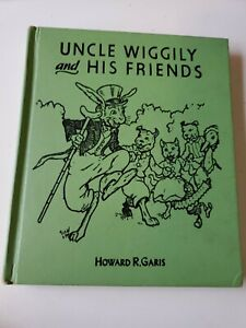 Uncle Wiggily and His Friends Book by Howard R. Garis 1955  Illustrated HC