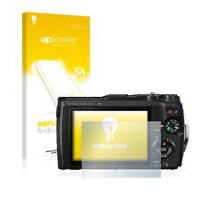 upscreen Reflection Schutzfolie für Olympus Tough TG-5 Displayschutzfolie Matt