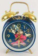 Vintage Sunbeam Disney Fantasia Mickey Mouse Wind-up Alarm Clock NOT WORKING
