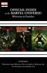 Wolverine, Punisher And Ghost Rider: Official Index to the Marvel Universe #8 VF