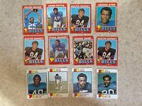 Topps 1971-1978 Buffalo Bills 20 Card Lot