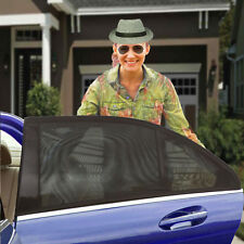 Zento Deals 2X Vehicle Slip-On Stretchy Mesh Protective Side Window Car Sunshade