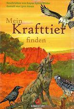 MEIN KRAFTTIER FINDEN - Gayan Sylvie Winter KARTEN & BUCH SET - NEU