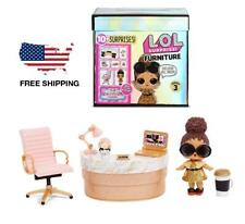 LOL Surprise Furniture Doll with Office Business Accessories for Girls Kids Gift