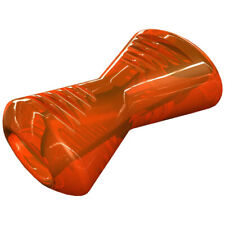 Bionic Bone Orange Durable Dog Treat Toy Medium Strong Tough Hard Chew Floats