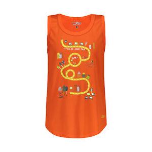 CMP Boys Functional Shirt Boy T-Shirt Orange Breathable Antibacterial